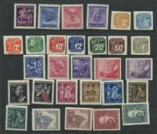 Bohemia & Moravia 1943-4 Mi 113-141 MNH/MVLH  2 Complete Years - Unused Stamps