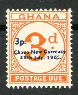 GHANA 1965 3p On 3d MNH** SG D21 -CAG - Autres