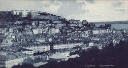 Print Panorama LISBON Portugal 1920's Lisboa General View - Géographie