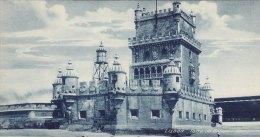 Print Torre De Belem LISBON Portugal 1920's Belém Tower Bethlehem Lisboa - Géographie
