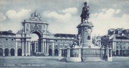 Print Praça Do Comercio LISBON Commerce Square King Jose I Statue Portugal - Géographie