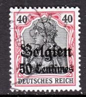 Germany Occupation Belgium N 5  (o) - Occupation 1914-18