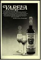 """Reklame Werbeanzeige  -  VARELA Sherry  ,  Der Sherry Aus Der """"Königsbodega""""  -  Von 1975 - Alkohol"""