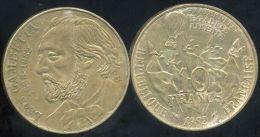 FRANCE 10  Francs GAMBETTA   1982 - France