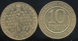 FRANCE 10  Francs  MILLENAIRE CAPETIEN  1987 - Frankrijk