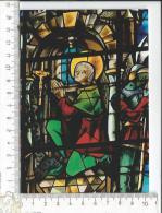 CPM, ROUEN: Cathédrale Notre-Dame, Détail D'un Vitrail, Jeanne D'Arc En Prière - Rouen