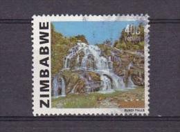 H] Timbre Oblitéré Canceled Stamp Zimbabwe Chutes D'Eau Waterfalls 1983 - Zimbabwe (1980-...)