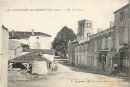 79 COULONGES SUR L'AUTIZE RUE DE L'EGLISE LE LAVOIR - Coulonges-sur-l'Autize