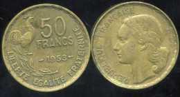 FRANCE    50 Francs  GUIRAUD  1953 - France