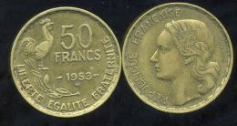 FRANCE    50 Francs  GUIRAUD  1953 B - M. 50 Francs