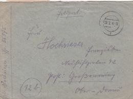 Feldpost WW2: Under Command Of Heeresgruppe Nord Via AOK 16: Landes-Bau-Pionier-Bataillon 19 (4. Kompagnie) FP 56575 Dtd - Militaria