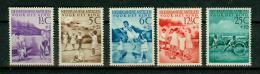 Ned Antillen Antilles 1951, 5V,kinderzegels,for The Youth,MNH/Postfris, (E1534) - Culturen