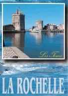 17 - La Rochelle - La Tour De La Chaine Et La Tour St Nicolas - Voir Scans Recto-Verso - La Rochelle