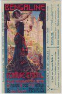19318g BENGALINE - Peinture Email - Pierre - Bois - Metaux - Paris - Rue Suger - Succursale Bruxelles - Ile-de-France