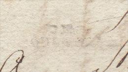 """Haute Garonne """"DE/TOULOUSE"""" à Sec LAC 1783 - Marcophilie (Lettres)"""