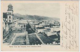 19328g SANTA CRUZ De TENERIFE - Série 3 Cartes - Hotel - Calle De La Marina - Agua Manzo - 1905 - Tenerife