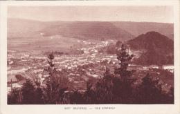 Cartes Ancienne ,88, Vosges,bruyères En 1914,vue Aerienne,photo  BOUVIER - Bruyeres