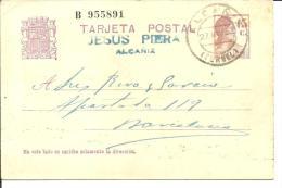 E.P COMERCIAL ALCAÑIA-TERUEL - Enteros Postales