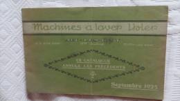 CATALOGUE MACHINES A LAVER IHLER ARC LES GRAY - Collezioni