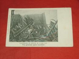 KONTICH  -   Catastrophe  de Contich -  Vue g�n�rale apr�s l�accident   -  1908
