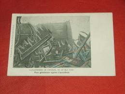 KONTICH  -   Catastrophe  De Contich -  Vue Générale Après L´accident   -  1908 - Kontich