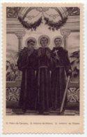 Santino Nuovo Fustellato 3 BEATI MARTIRI DEI FRATI MINORI - Ristampa Tipografica Da Santino Antico - PERFETTO F53 - Religion & Esotérisme