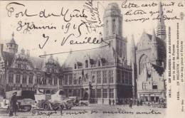 AZE17/  1914 En Belgique Furnes Veurne Auto Mitrailleuse Maxim-gun Motor Cars, Envoyée Par Soldat Français 1915 - Veurne