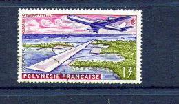 POLYNESIE FRANCAISE  PA  N° 5 OBL - Poste Aérienne