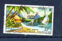 POLYNESIE FRANCAISE  PA  N° 9 OBL - Poste Aérienne