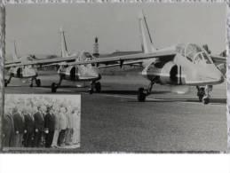 """CPM - LONGVIC - Base Aérienne 102 """" Guynemer """" - Célébration 11 Septembre 1990 - France"""