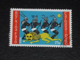BURKINA FASO YT 671 OBLITERE - CARNAVAL DODO - DANSE DU LION - - Burkina Faso (1984-...)
