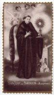 Santino Nuovo Fustellato SAN GIOVANNI DI SAHAGUN Sacerdote - Ristampa Tipografica Da Santino Antico - PERFETTO F53 - Religione & Esoterismo