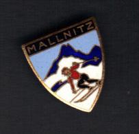30333-ancienne Broche.Ski.Autriche.Mallnitz.autriche - Sport Invernali