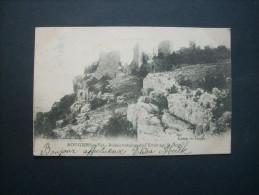 ROUGIERS  Var Ruines Romaines De L'ermitage St Jean - Long éd.  PRECURSEUR CIRCULEE 1904 L137 - France
