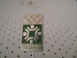 Winter Olympic Game SARAJEVO 1984 Pin Badge - Olympic Games