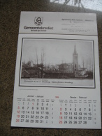 KALENDER 1986 ALSEMBERG ST GENESIUS RODE B186 - Calendriers