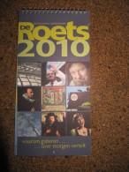Historische Weekkalender ROETS 2010 DAVIDSFONDS B201 - Calendriers