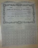 Action Pompe De Sauvetage Industrielle 1856 - Industrie