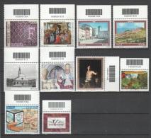 ITALIA 2010 - Lotto 10 Francobolli Con Codice A Barre - Lotti E Collezioni