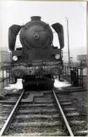 Photo De Locomotive 241 A 15 En 1er Plan Cliché SCHNABEL 4448 - Trains