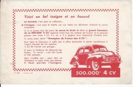 Buvard  4 CV - Automobile