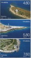 CROATIA - Set 3 Stamps - LIGHTHOUSES - 2013 - Croatie