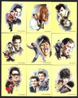 CIGARETTE/TRADE/CARDS. Diamond Collection. ROCK 'N' ROLL. (1997). (Complete Set Of 20 Large Cards). - Picture Cards
