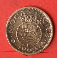 MOZAMBIQUE  1  ESCUDOS  1969   KM# 82  -    (Nº03260) - Mozambique