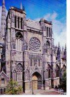 Bordeaux : Cathédrale Saint André Le Portail Sud Et Sa Rosace N° 3376 Chatagneau - Bordeaux