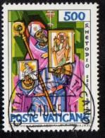 PIA  -  VATICANO  - 1985 -  1100°  Della  Morte Di San Metodio  -  (SAS  770-72) - Vaticano (Ciudad Del)