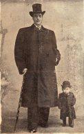 ITALIE VINADIA Cirque Géant Il Gigante UGO Et Non HUGO Baptiste Né Nato 1876 à Vinadia Et Non E No En 1879 à St Martin - Cuneo