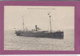 """Arrivée Du """"Maréchal BUGEAUD """" à ALGER - Algiers"""
