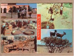 DJIBOUTI - CPM - TYPIQUE DE DJIBOUTI - MULTI VUES - éditeur Soffraf Disco - Djibouti