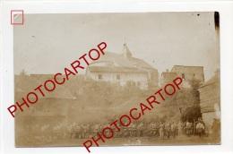 Troupe-NON SITUEE-CARTE PHOTO Allemande-Guerre 14-18-1WK-FRANCE-FRANKREICH-08-55-Feldpost 828- - Frankreich